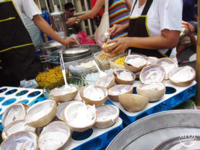 Coconut Ice Cream Chatuchak JJ Weekend Market