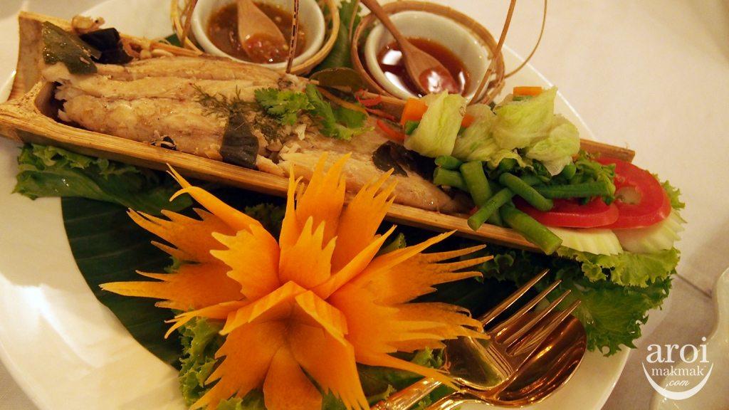 Blue Elephant - Bamboo Fish