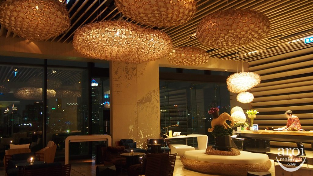 Sofitel So Bangkok - Park Lobby Night