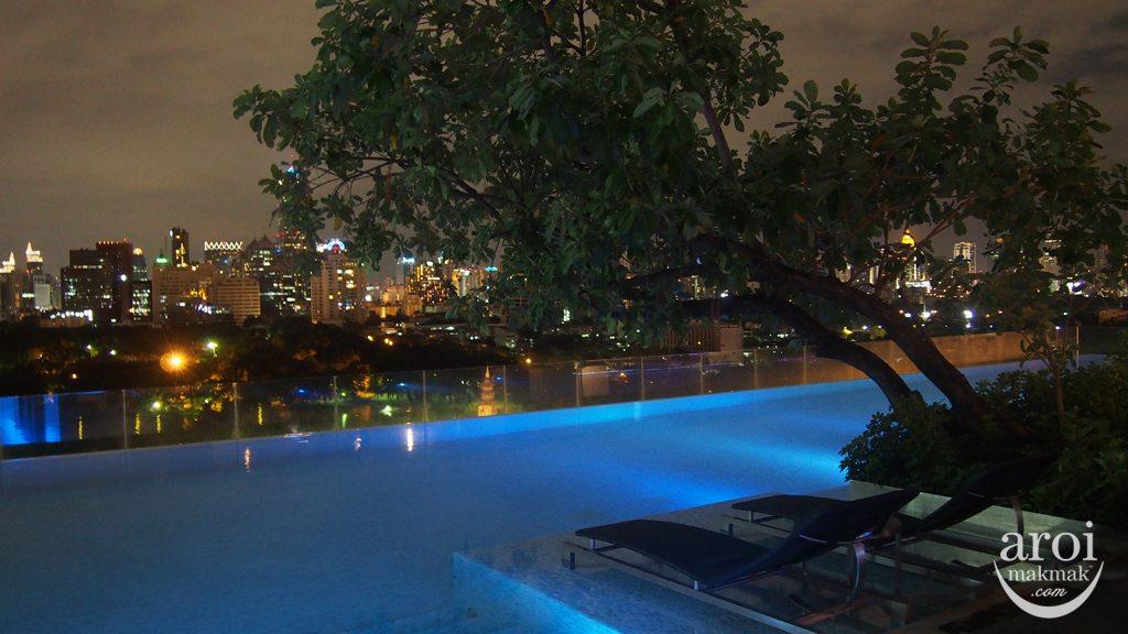 Sofitel So Bangkok - Swimming Pool Night