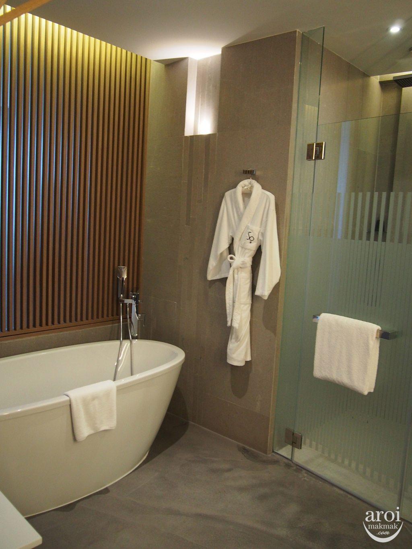 Sofitel So Bangkok - Wood Bathroom