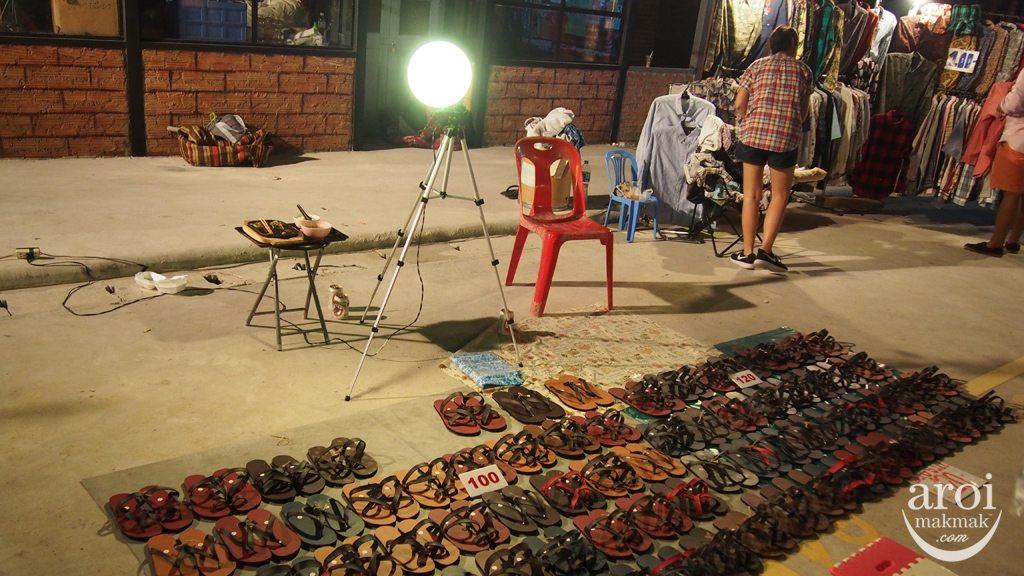 Talad Rot Fai Srinakarin - Rubber Sandals