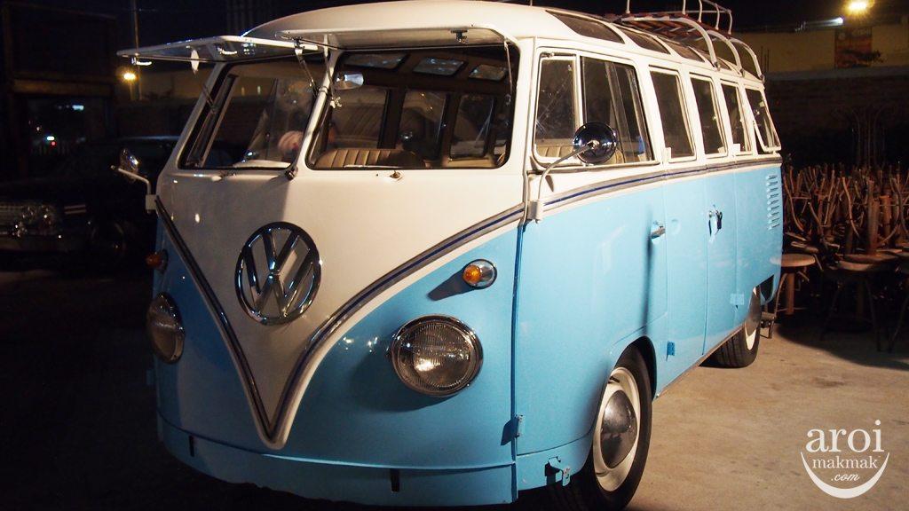 Talad Rot Fai Srinakarin - Volkswagen Van