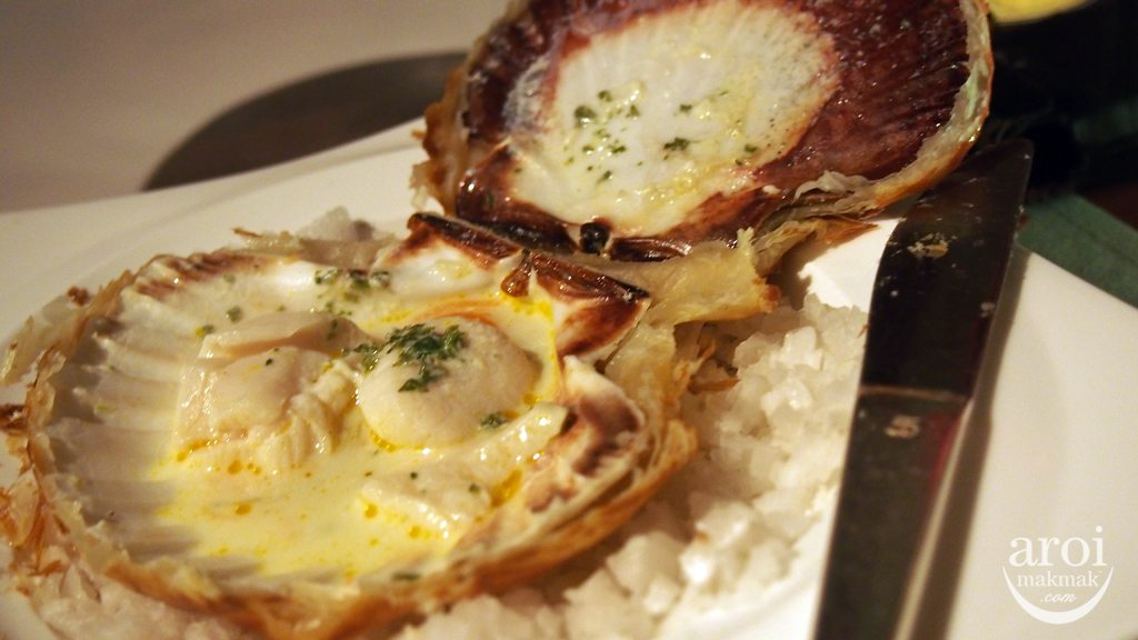Fifty Five - Baked Scallop in their Shell
