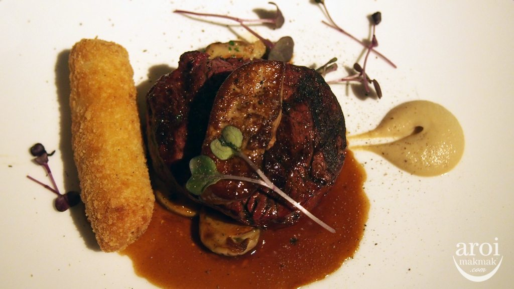 Fifty Five - Wagyu Beef Tenderloin with Foie Gras