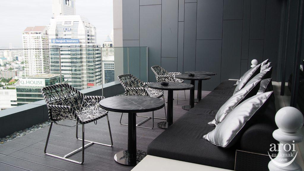 Club Signature Sofitel So Bangkok - Balcony