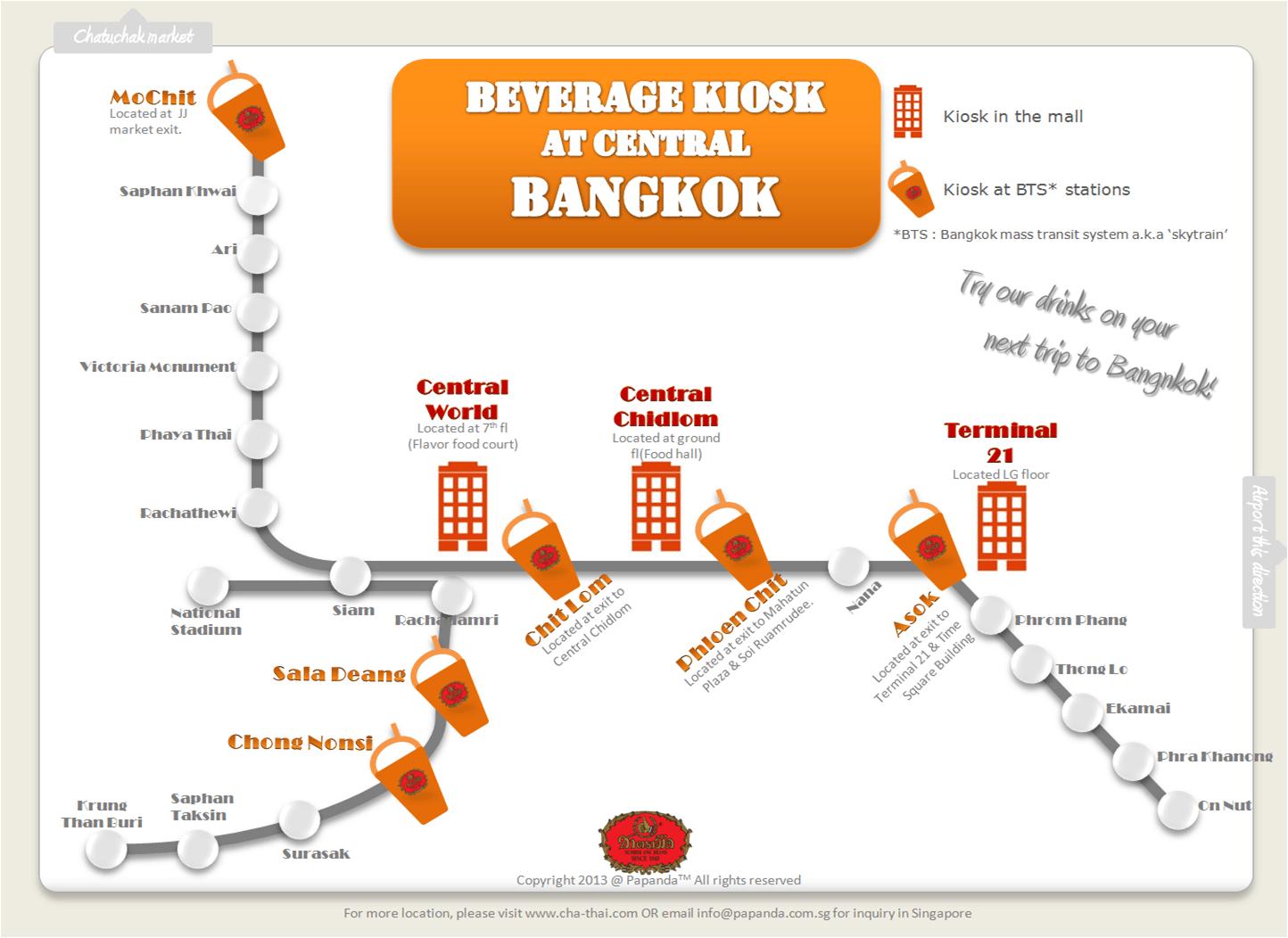 Number One Brand Original Thai Tea Bangkok