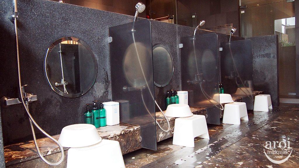 Yunomori Onsen Spa - Shower