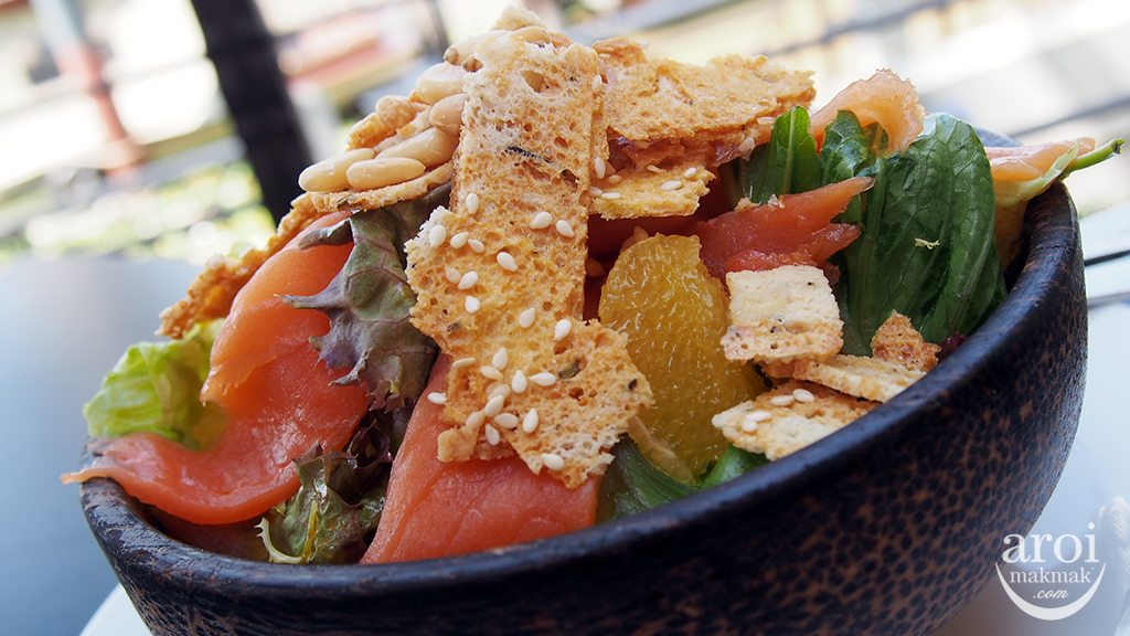 Babble and Rum - Salmon Salad