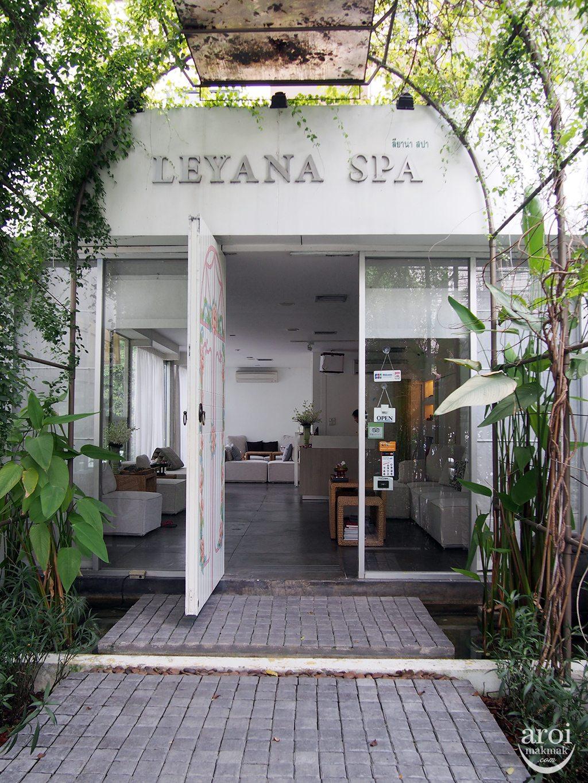 Leyana Spa - Entrance