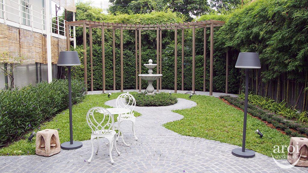 Leyana Spa - Garden