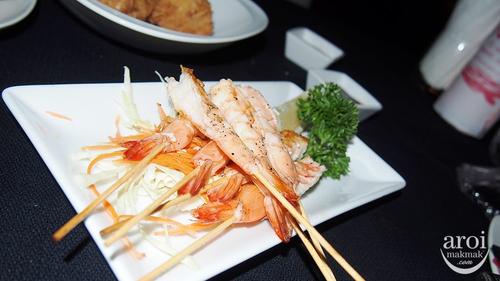 nest Rooftop Bar - Grilled Prawn