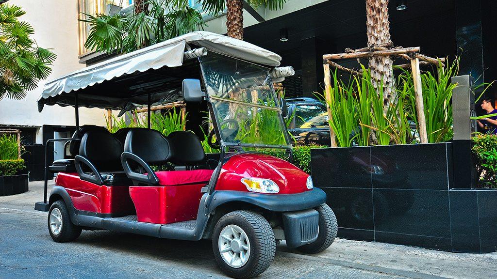 Galleria 10 - Golf Car