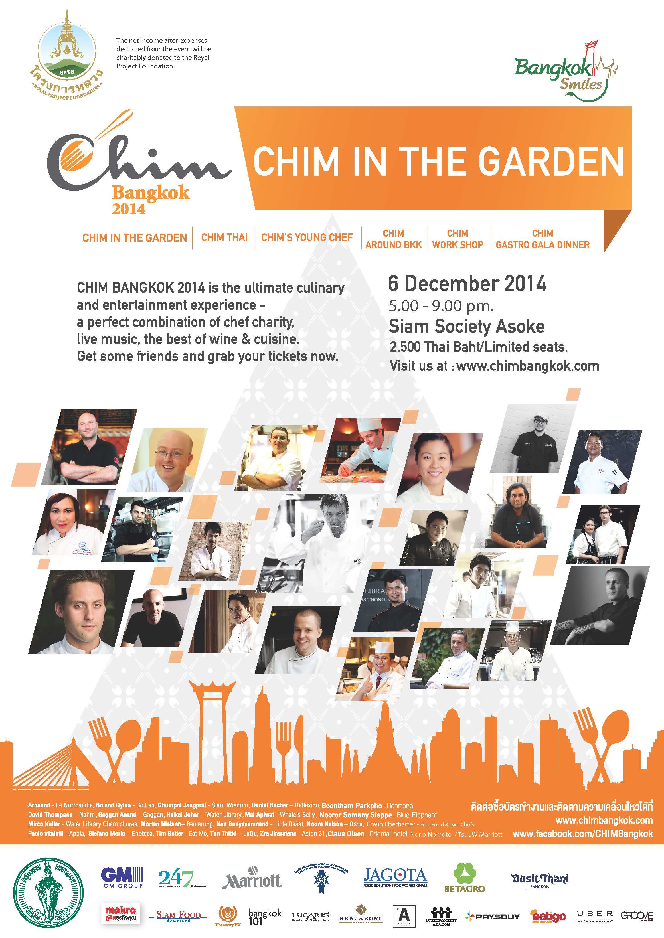 CHIM in the garden
