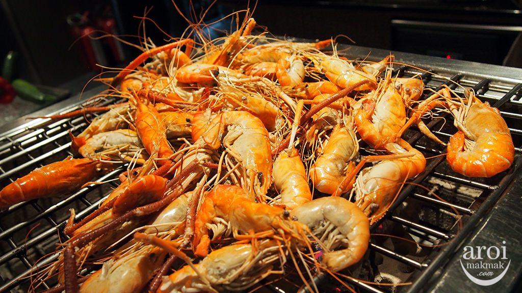 novotelbangkokploenchit_seafoodweekend-grilledprawn