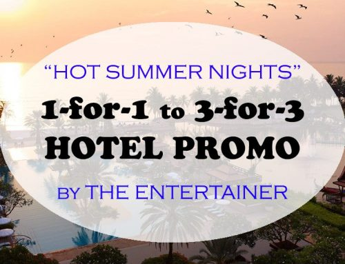 Book 1 Night Hotel Get 1 Night Free with The Entertainer