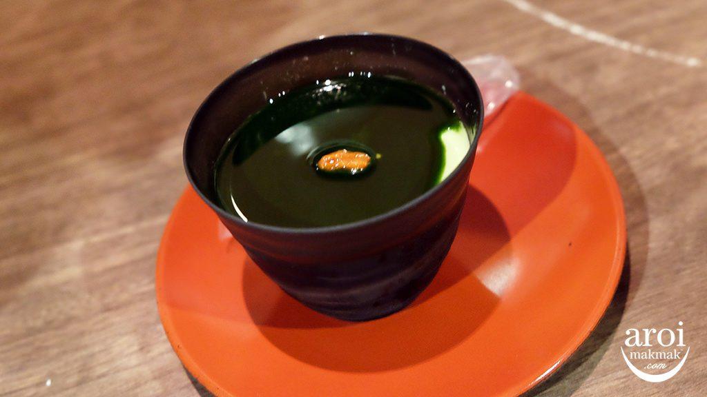 ichiranramenshinjuku-matchaalmondpudding
