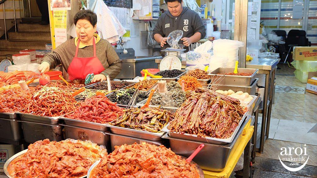 gwangjangmarket-kimchi