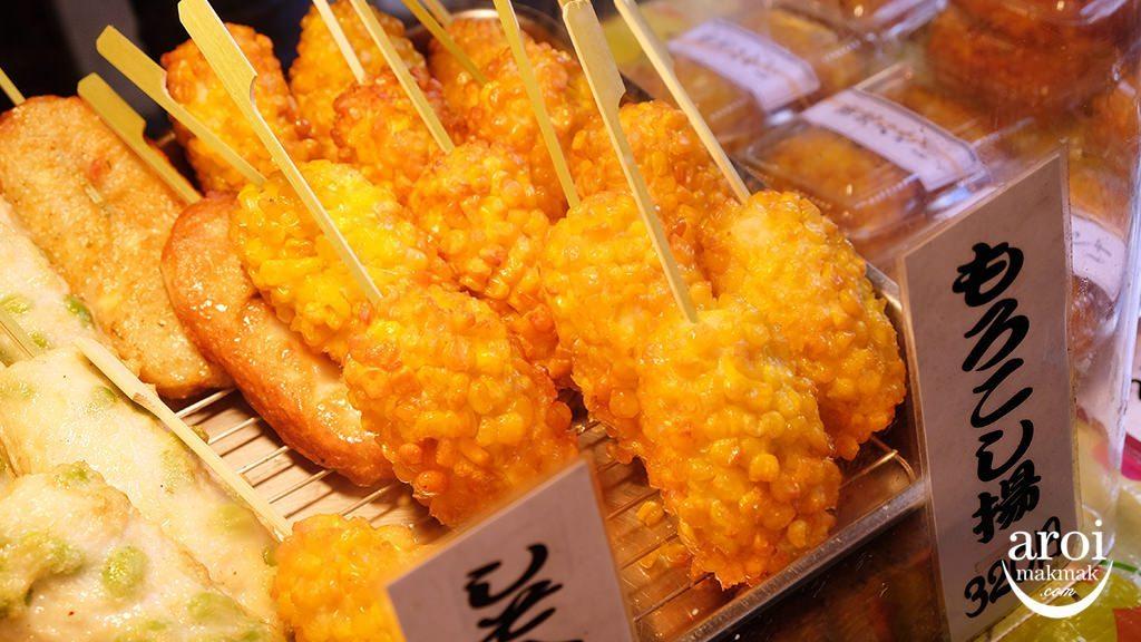 tsukijioutermarket-friedsnack