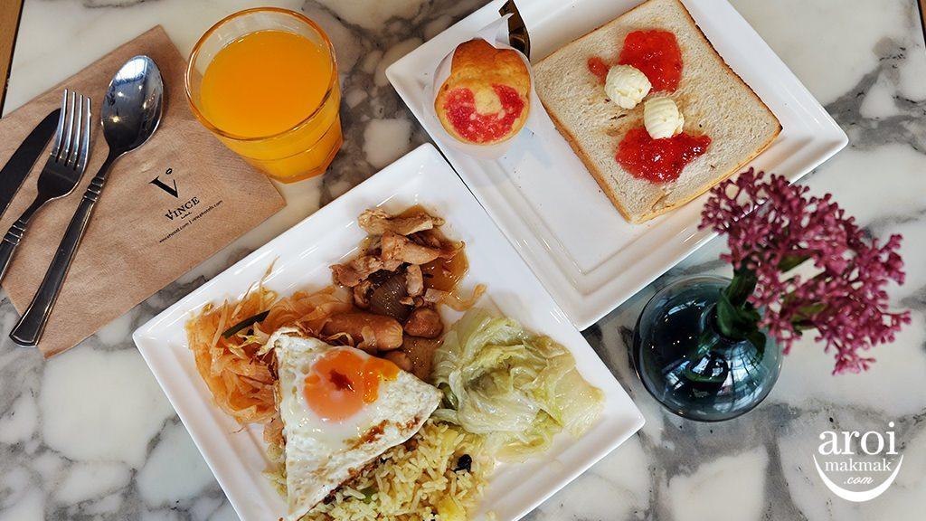 vincehotelpratunam-breakfast1
