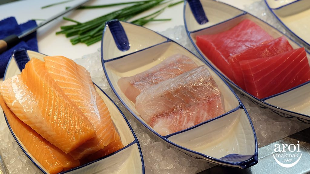 pathumwanprincessdinnerbuffet-sashimi