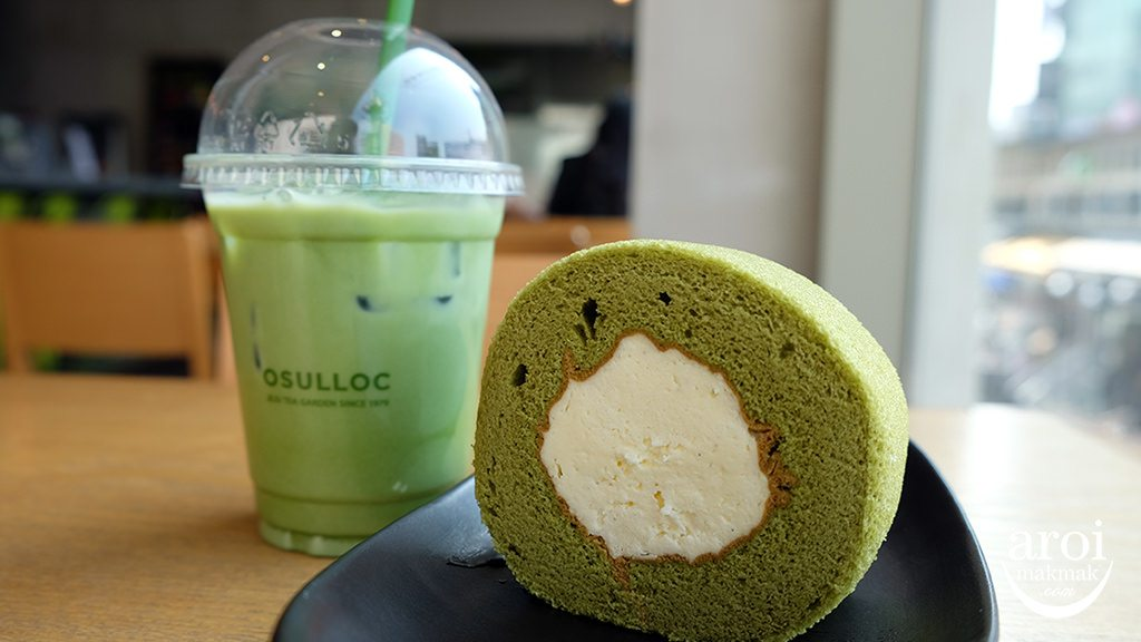 osullochongdae-greentearollcake
