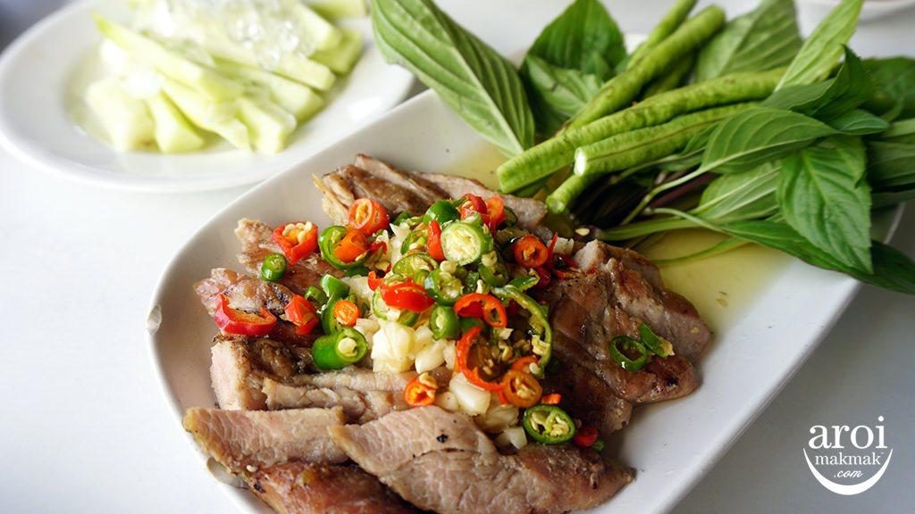 diaryqueenbangkok-grilledporkwiththaisalad
