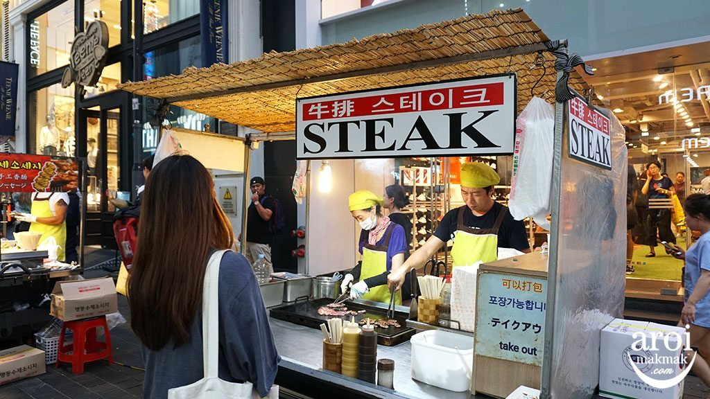 10myeongdongstreet_steak2