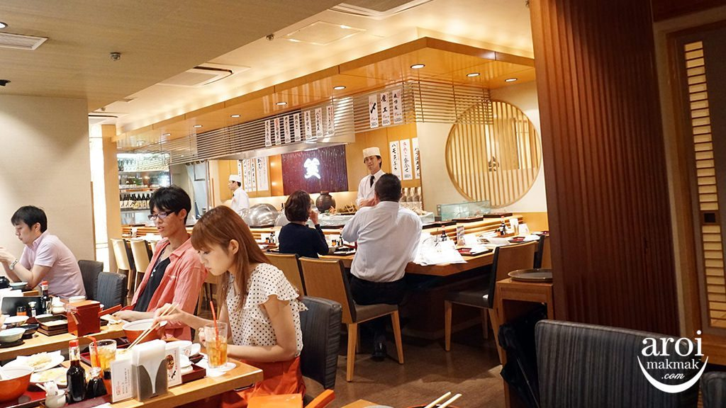 tenpurasazen-interior