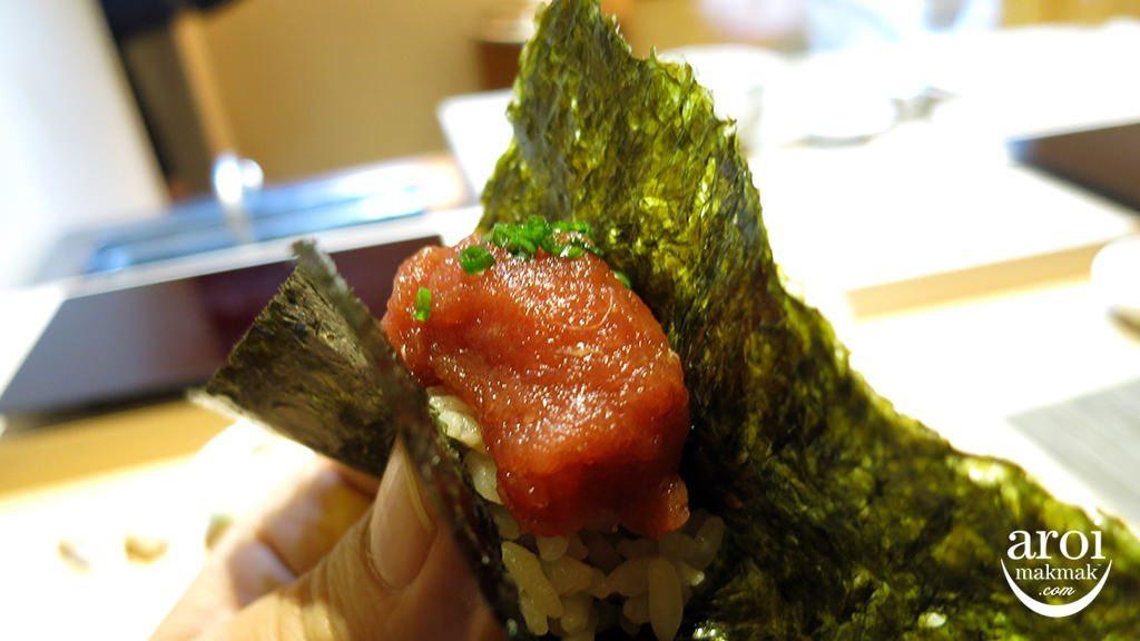sushimasato-NegitoroTemaki