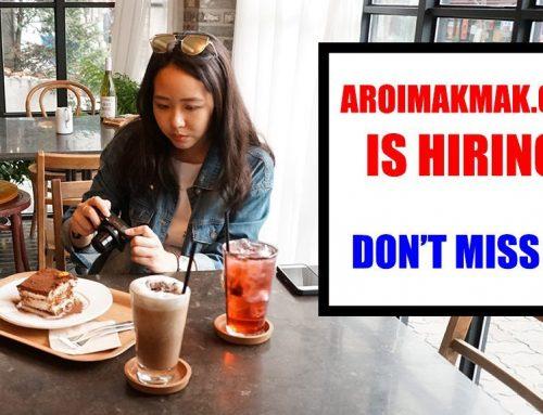 AroiMakMak.com is hiring!
