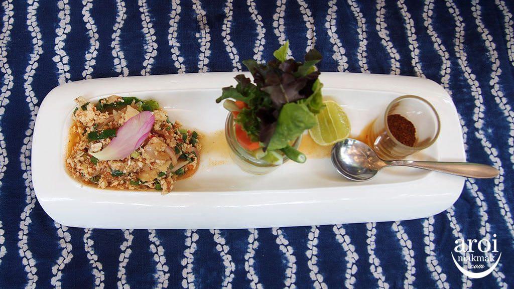 meena-ricebasedcuisine-porkmincedsalad