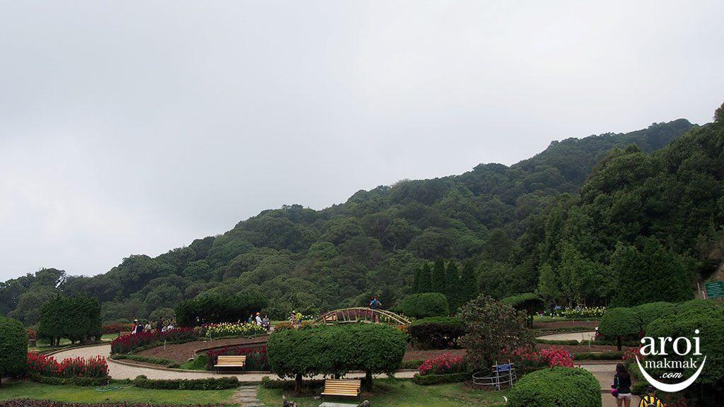doiinthanonpagoda_flowergarden