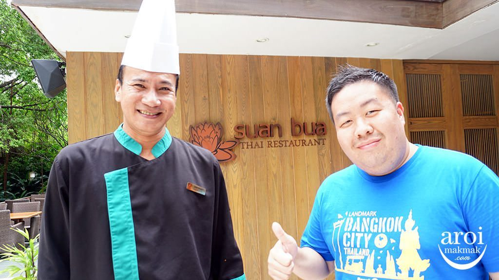 suanbuathairestaurant-chefpor