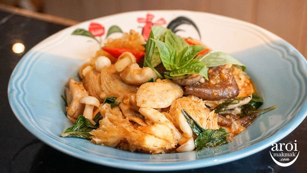 suanbuathairestaurant-stirfriedRoyalProjectmushrooms