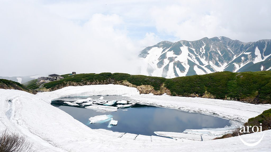toyama_TateyamaKurobeAlpineRoute-pond