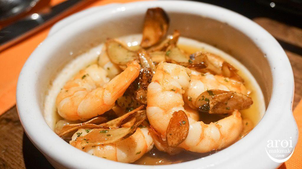 arrozbangkok-garlicprawns