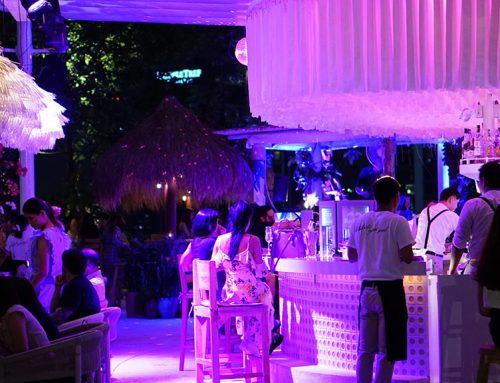 """Escape Bangkok – EmQuartier's New """"Beach Club"""" Rooftop Bar"""