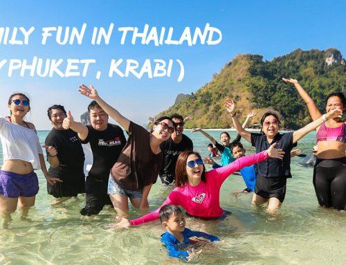 Family Fun Thailand in Phuket and Krabi – It's More Than Just Beaches & Walking Street!