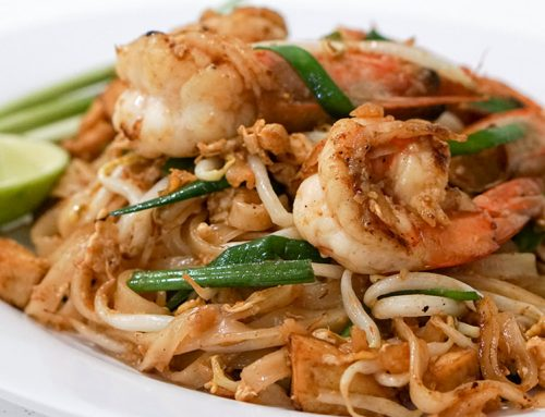 Jao Praya Thai Cuisine serves probably one of the best Pad Thai in Singapore