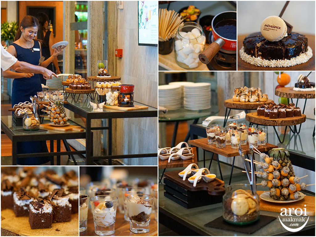 movenpickhotelsukhumvit15-chocolatebuffet