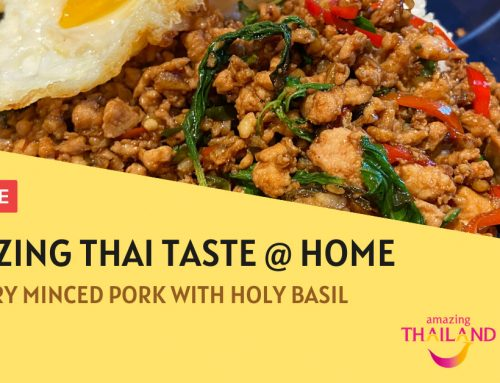Stir-Fry Minced Pork with Holy Basil – Amazing Thai Taste @ Home