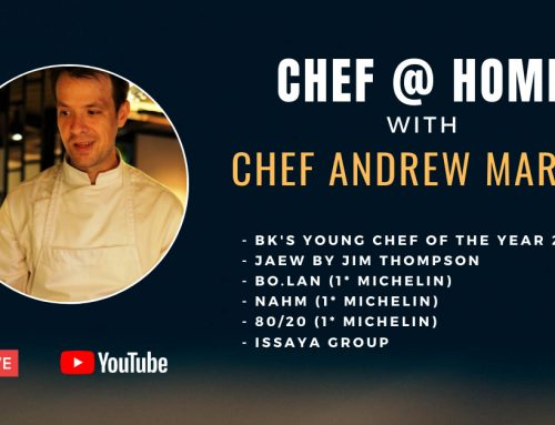 Chef @ Home with Chef Andrew Martin