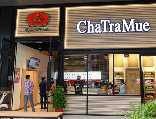 [SG] ChaTraMue – Famous Thai Milk Tea brand opens their flagship shop at PLQ