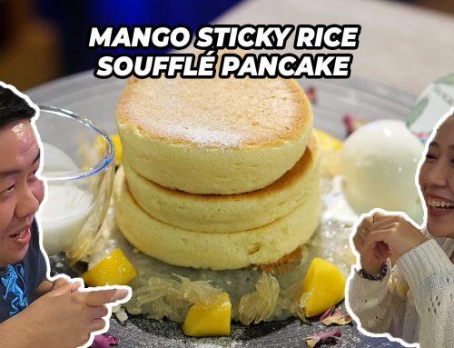 Sawasdee Singapore: Mango Sticky Rice Soufflé Pancake