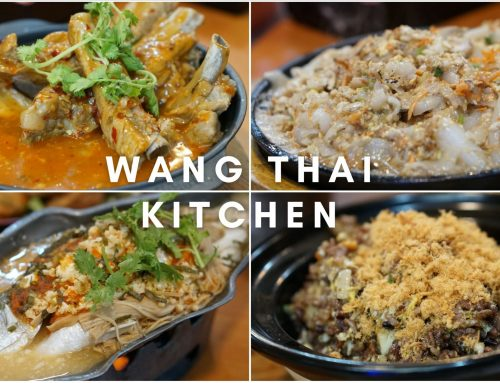 Wang Thai Kitchen – Budget Friendly Thai Food Hidden in Toa Payoh