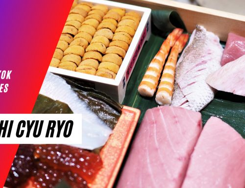 Sushi Cyu Ryo – Modern-style Omakase rooted in tradition