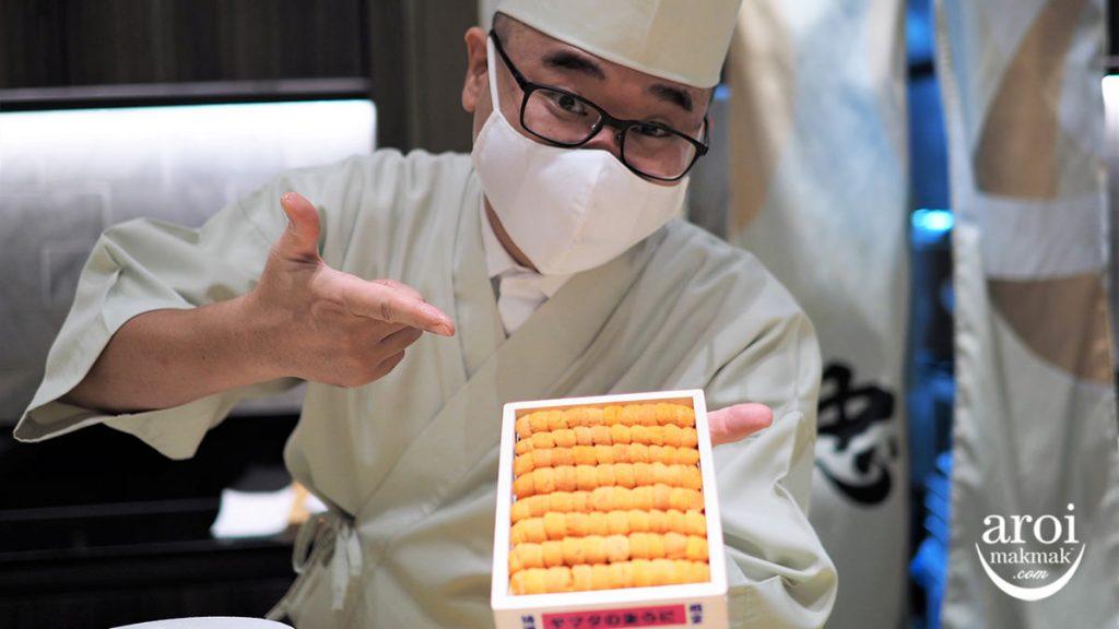 sushicyuryo-chefwithuni