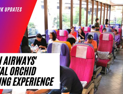 Thai Airways' Royal Orchid Dining Experience & Patonggo